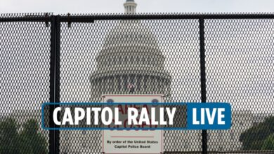 Photo of Capitol protest at present LIVE – Justice for J6 rally begin time at present in Washington DC as DHS warns of potential violence