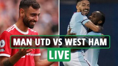 Photo of Man Utd vs West Ham LIVE: Stream, TV channel, staff information for third-round Carabao Cup conflict – newest updates