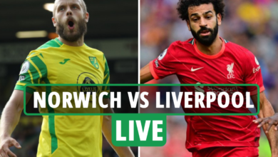 Photo of Norwich vs Liverpool LIVE: Stream, TV channel, staff information for third-round Carabao Cup tie – newest updates